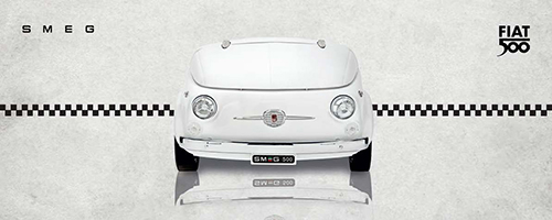 SMEG – Fiat 500 design