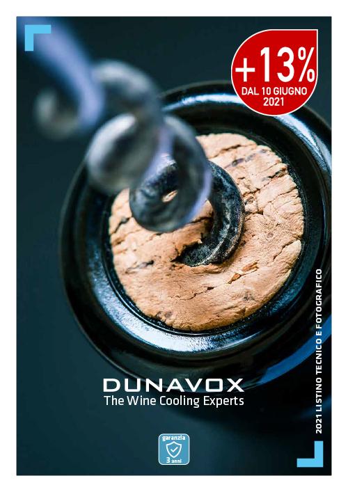 DUNAVOX – Listino 02/2021