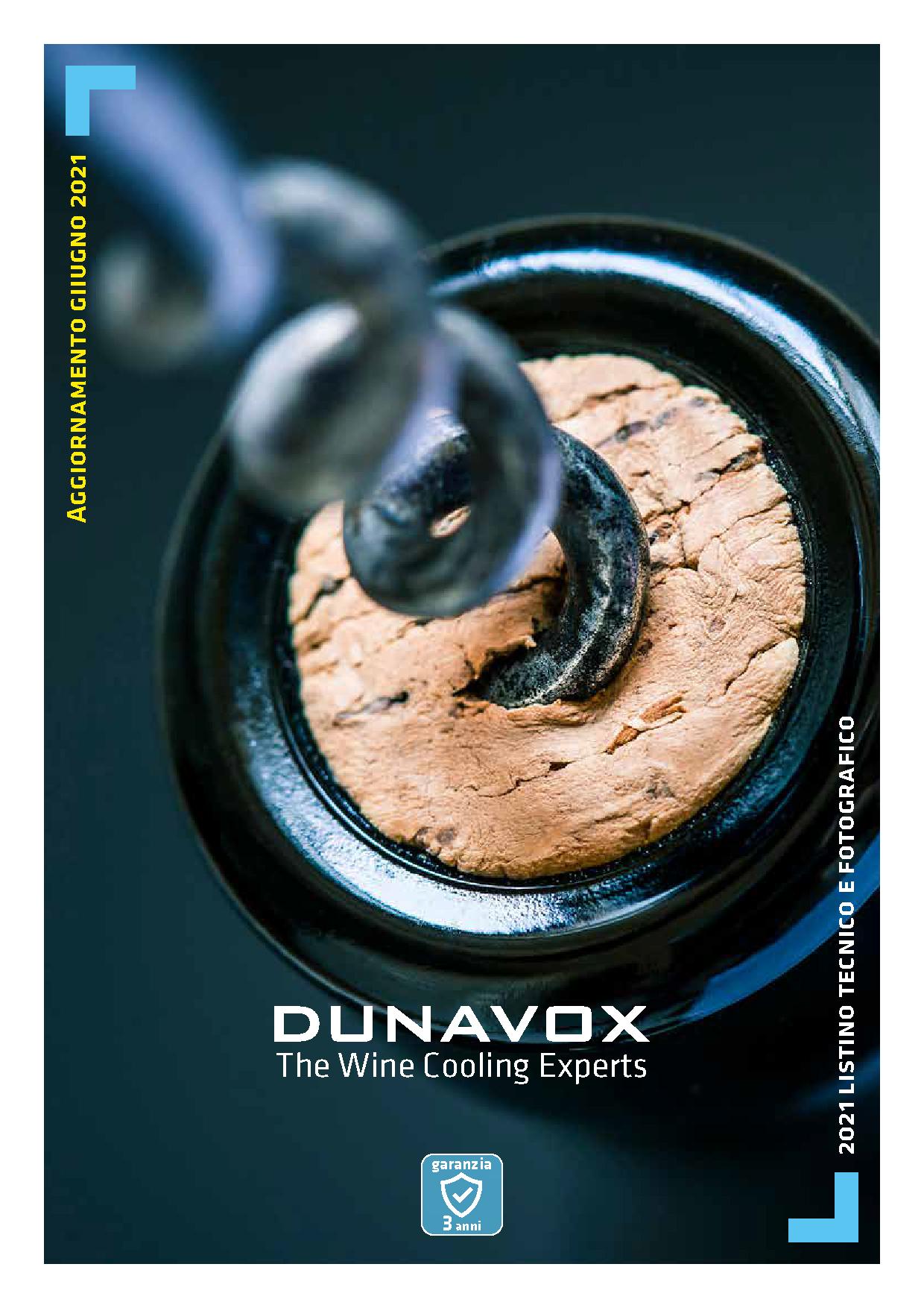 DUNAVOX Listino 06 2021
